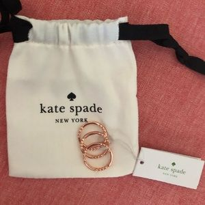 Kate spade full circle 3 ring set size 7